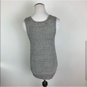 Anthropologie Sweaters - Anthropologie Sparrow Open Knit Sleeveless Sweater
